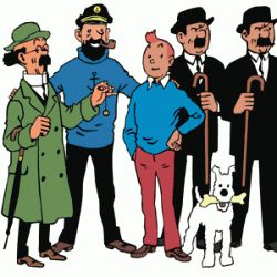 """Dress up in a Tin Tin costume or any of the celebrated characters in the classic, """"The Adventures of Tintin"""" - brash Captain Haddock, genius /..."""