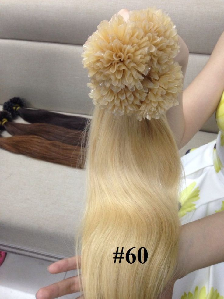 VIETNAMESE U TIP COLOR 60 IN STRAIGHT HAIR