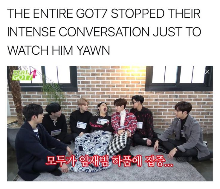 Lmao or let's just say that JB stopped they intense convo just to yawn