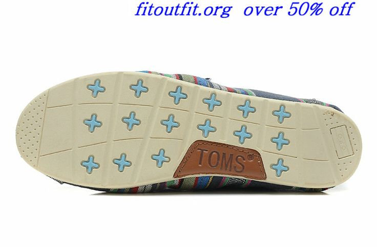Toms Rubber Sole Womens Armory Blue Sport Red Grass Green Stripe Rainbow Toms Shoes Outlet  #fashion #shoes