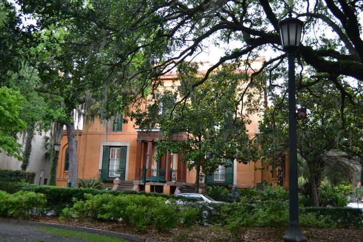 Sorrel-Weed Mansion, Savannah, Georgia (Дом-музей Френсиса Соррела. Саванна, Джорджия )