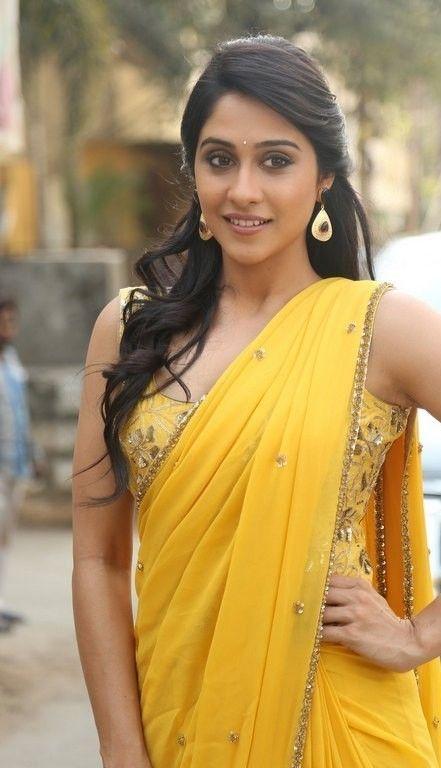 Traditional Fashion Telugu Actress Regina Cassandra