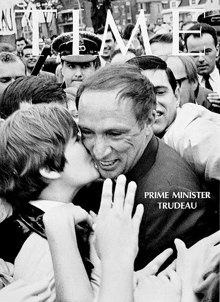 Pierre Elliot Trudeau. One of the greatest Canadian leaders