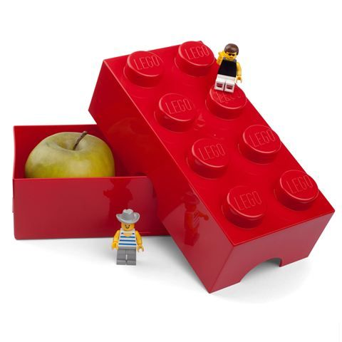 Lego - Lunch Box 8 Red