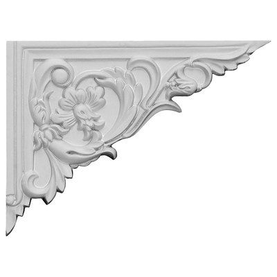With the beauty of original and historical styles, decorative stair brackets add the finishing touch to stair systems. Manufactured from a high density urethane foam, they hold the same type of densit