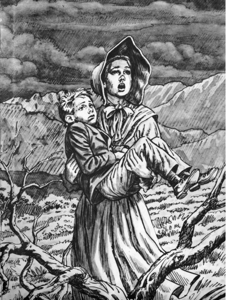 Racheltjie de Beer (1831–1843) is an Afrikaner heroine who gave her life in order to save that of her brother. There is some debate as to whether Rachel truly existed or is merely part of a fable designed to teach children the danger of wandering. Either way, she is a South African heroine