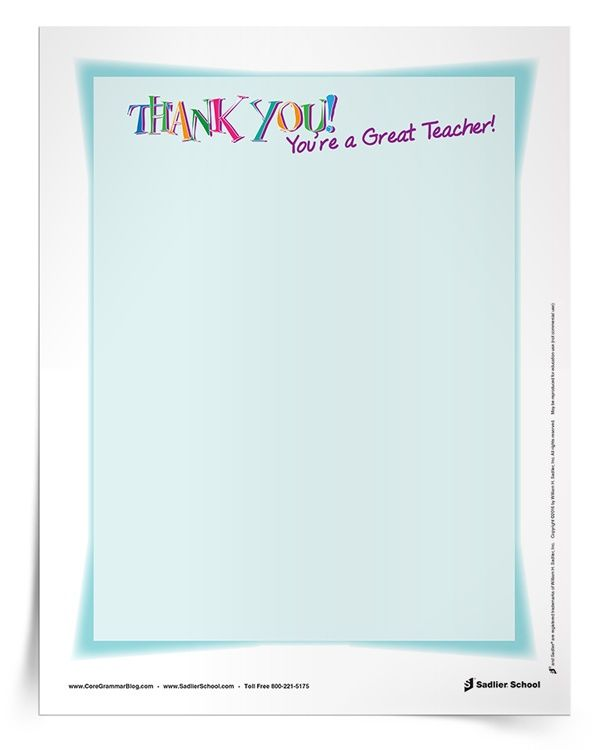 Best  Teacher Appreciation Letter Ideas On   Teacher