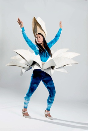 """Opera Diva""costume by Sadhana Peterson                      created for an exhibition at TAFTA Fibre Forum, Orange 2008"