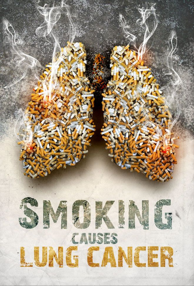 30 Brilliant Anti Smoking Advertisements for your inspiration - Best Print Ads and Posters. Follow us www.pinterest.com/webneel