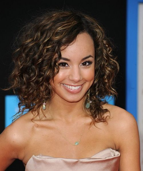 cute curly hairstyles 2013