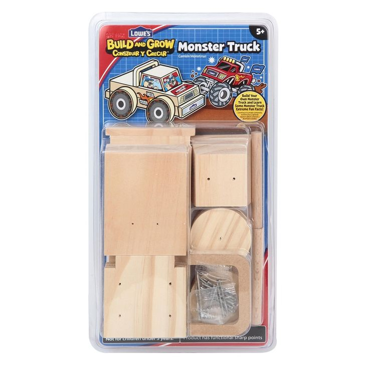 Shop Build and Grow Kid's Beginner Kids Woodworking Project Kit at Lowes.com