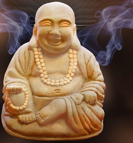 Buda, Figura, Humo, Espiritualidad