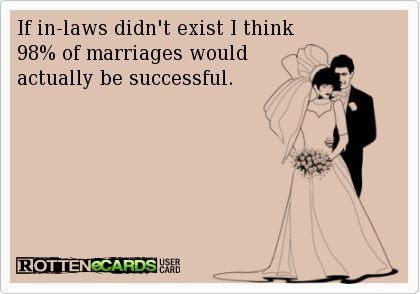 Especially when your sister in law(s) get pregnant out of wedlock while you've struggled to have a baby!