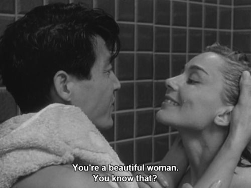 HIROSHIMA MON AMOUR, written by Marguerite Duras and starring Emmanuelle Riva - Women in Film