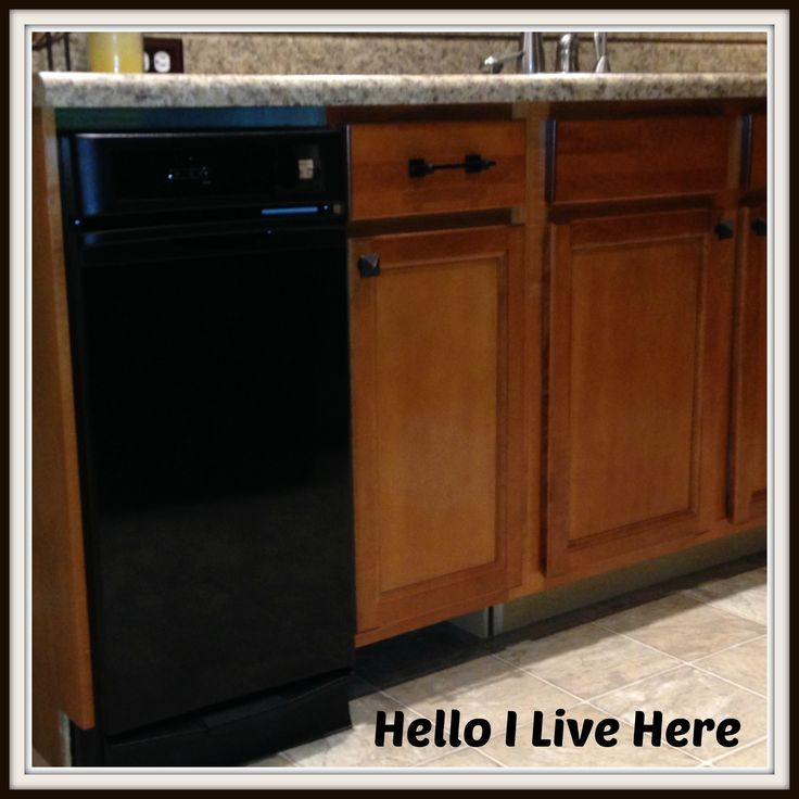 How to Install a Trash compactor - Written By Hello I Live Here - Don't let your kitchen live without this appliance!