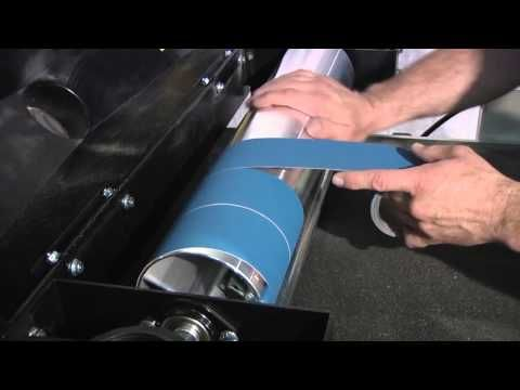 How to Use a Drum Sander - YouTube