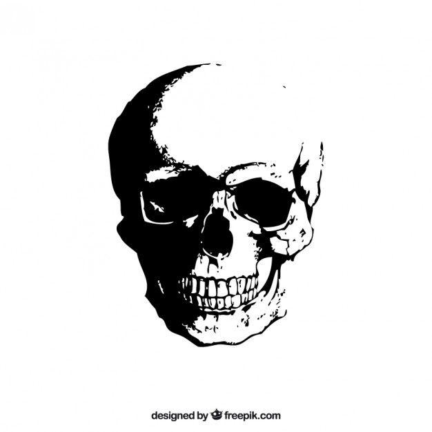 Free vector Grunge skull #8863