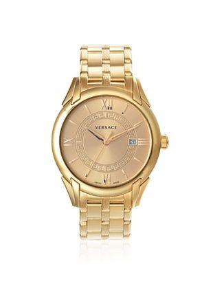 Versace Men's VFI060013 Apollo Rose Gold IP Watch