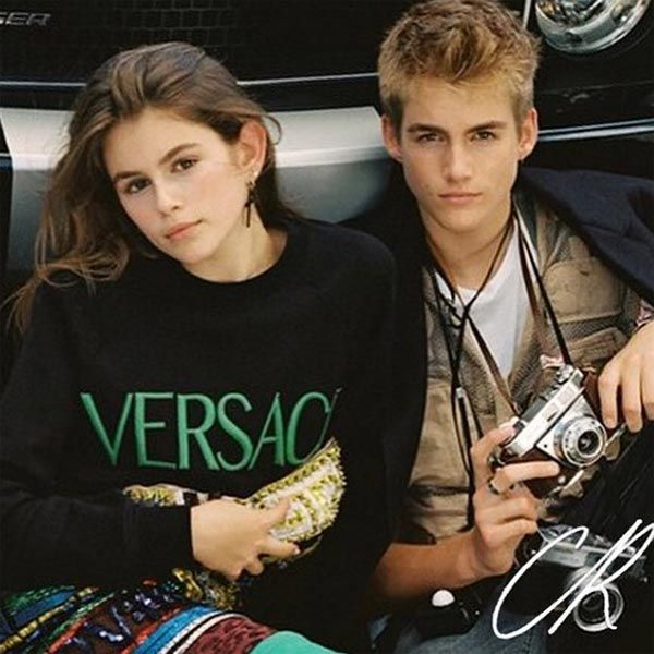Cindy Crawford's children star in new high-fashion campaign- Kaia & Presley!