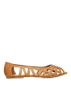 new look tan peep toe wide - Google Search