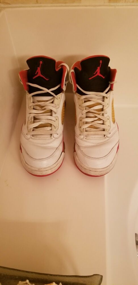 eec5428912f Nike Air Jordan 5 Retro 2006 Fire Red 136027 162 Sz13DS OG X 3 XI XII 4 V  13 #fashion #clothing #shoes #accessories #mensshoes #athleticshoes (ebay  link)