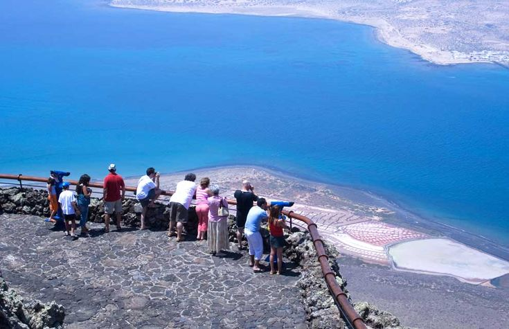 Mirador del Rio, Lanzarote, Canary Islands  It is a viewing point, designed by Cesar Manrique, offers a privileged view of La Graciosa Island