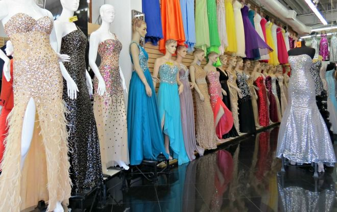 Noell # Promdresses At The LA Fashion District