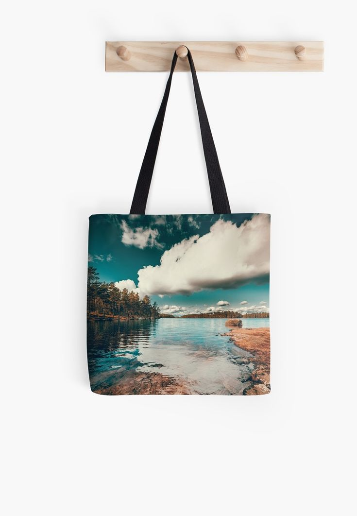 'Belle Svezia' Tote Bag by HappyMelvin. #nature #landscape #wanderlust #totebags #tote