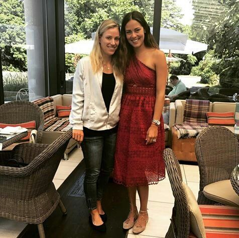 Angie kerber & Ana Ivanovic