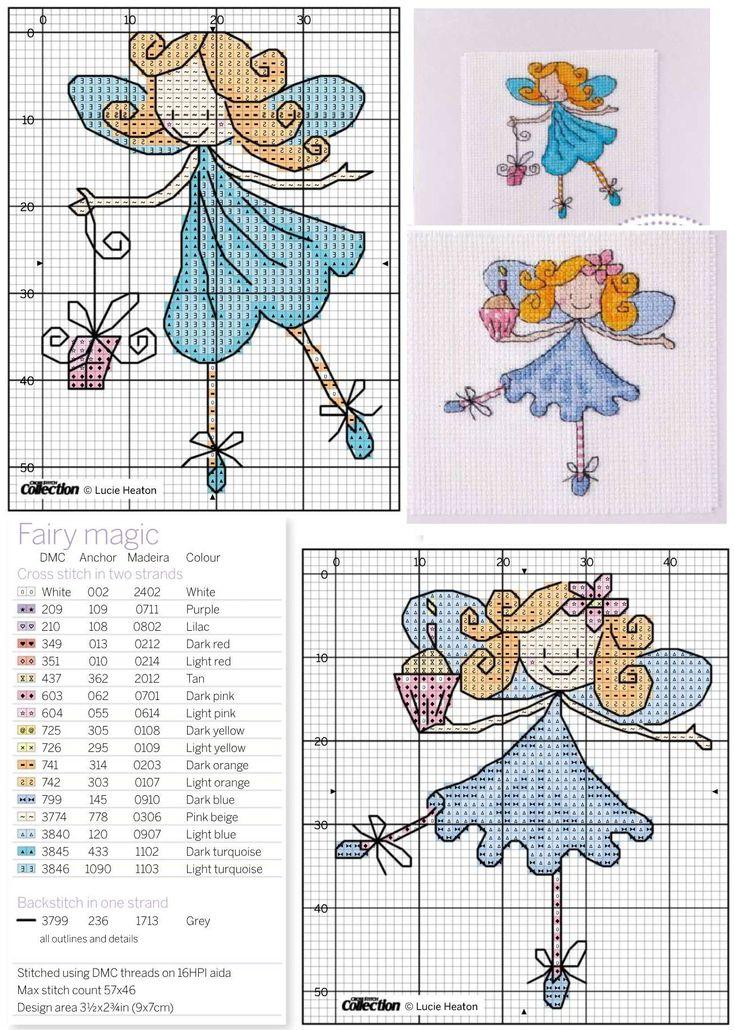 открытки с вышивкой крестом своими руками, удобные схемы для вышивки крестом, фея, принцесса, балерина