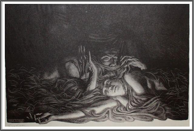 Tyra Kleen (1874-1951), La Chevelure (Un hémisphère dans une chevelure, Charles…