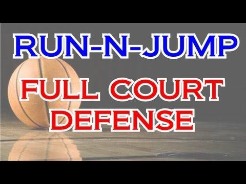 Basketball Run and Jump Press Defense, Coach's Clipboard Basketball Coaching and Playbook