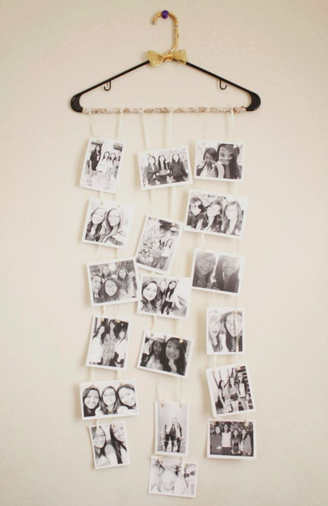 DIY Hanger Photo Collage