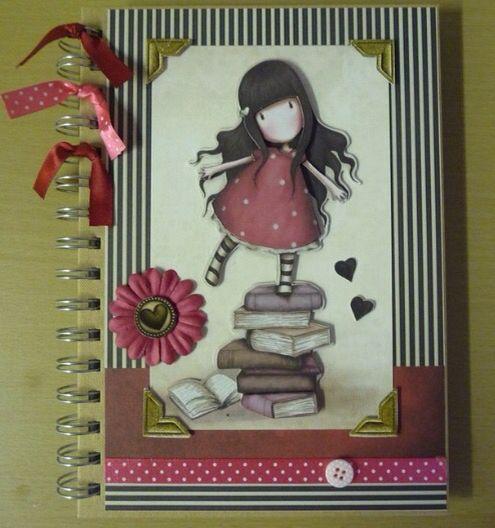 Gorjuss Girls Notebook