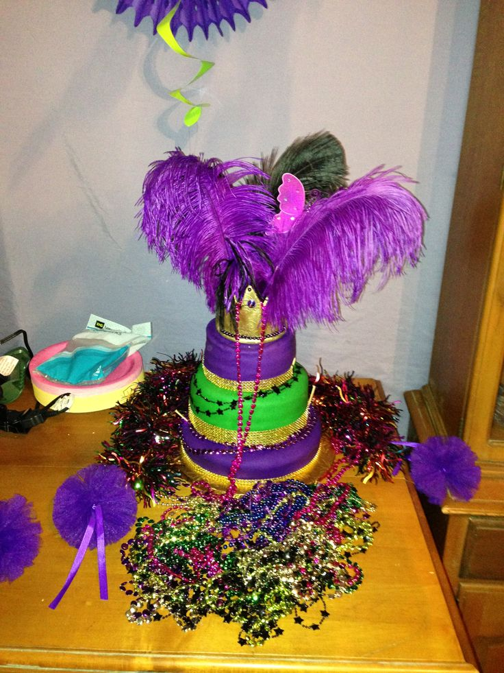73 best images about Cake Decorating~Mardi Gras on ...