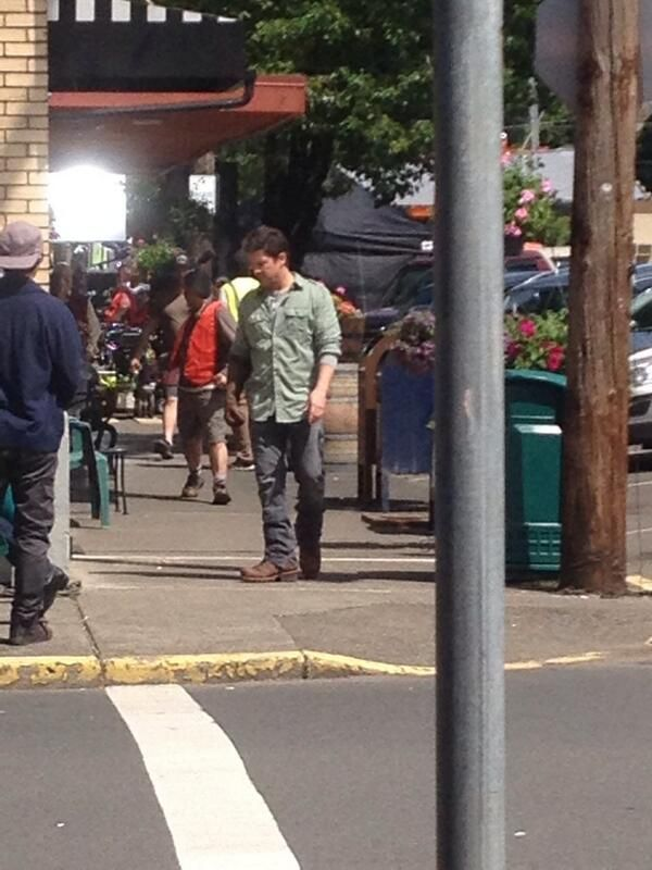 Christian Kane Filming TNTu0027S New Show The Librarians On Location In Oregon  5 20