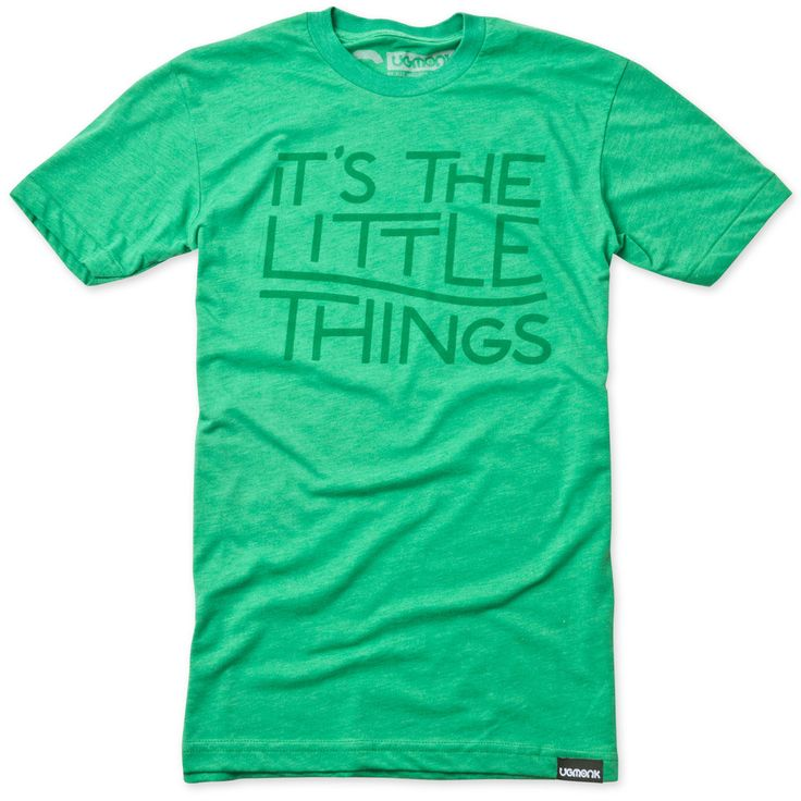 IT'S THE LITTLE THINGS (HEATHER GREEN)   Ugmonk