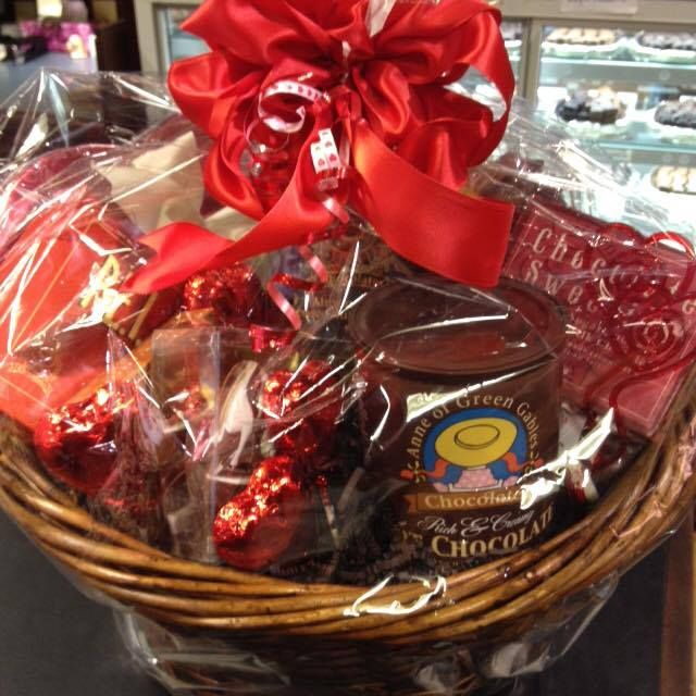 If you're looking for something special for LOVE DAY in Charlottetown, stop by Anne of Green Gables Chocolates & pick up one of their gift baskets! The perfect gift for anyone you love!