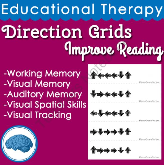Improve Reading | Therapeutic Activity for Visual Memory, Auditory Memory, Visual Spatial skills, and Working Memory from Selma Dawani on TeachersNotebook.com - (119 pages) - IMPROVE YOUR STUDENTS READING in 12 WEEKS! 5 sessions a week (10-15 minute sessions) I have been using this method for years and it works! It is a perfect edition to any academic remediation!! Working memory Visual memory or Auditory memory Visual s