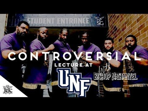 The Israelites: CONTROVERSIAL LECTURE AT NORTH FLORIDA UNIVERSITY - YouTube