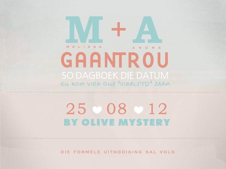 Electronic Save the Date