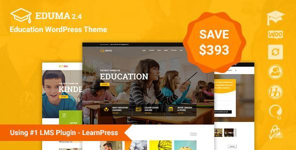 ThemeForest - Education WordPress Theme Free Download