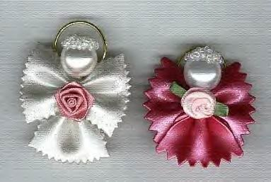 Angel Ornaments | ... .com • View topic - Bowtie Pasta Angels - Pictures & Instructions: