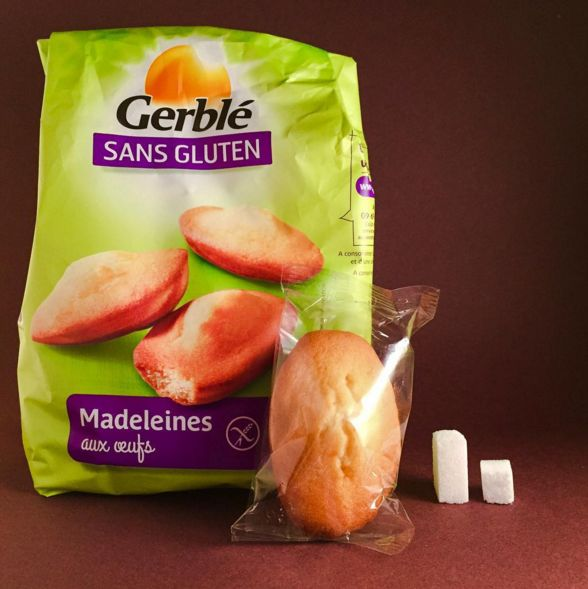 One gluten free madeleine Gerblé (28,6g) has 6,9g of sugar. WHO's recommendation: 25g per day. /// Une madeleine sans gluten Gerblé (28,6g) contient 6,9g de sucre.La recommandation de l'OMS : 25g de sucre par jour. #dealerdesucre #sugardealer #sugaraddiction #sugar #sugarfactory #coca #cocacola #drugs #drogue #sugarlover #drink #slurp #health #healthychoices #healthylifestyle #healthylife #foodindustry #agroalimentaire #cookie #biscuits #breakfast
