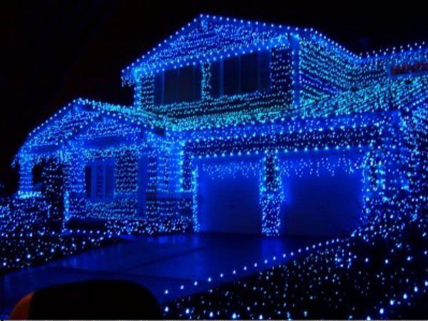1000 Ideas About Blue Christmas Lights On Pinterest Blue Christmas Blue Christmas Trees And
