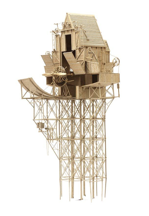 Flying Machines – Les créations en carton de Daniel Agdag (image)