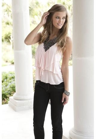 EMBELLISHED RACERBACK TANK, can't wait until it comes in the mail!