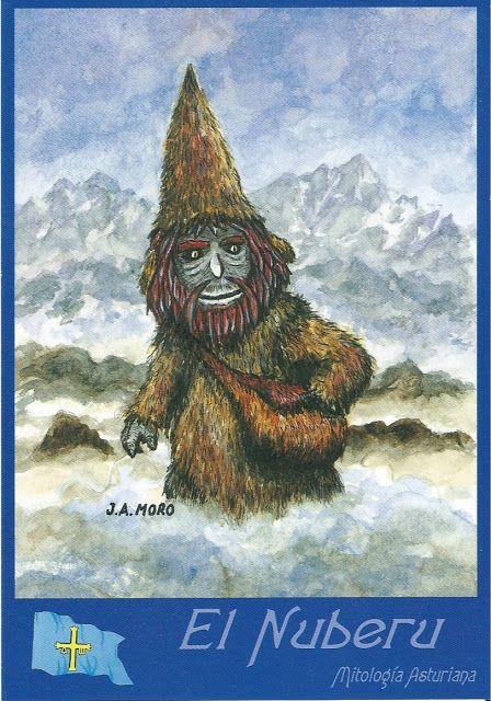 La Atalaya Nocturna: Lunes de Postal (Monday's postcard): El Nuberu