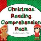Christmas Reading Comprehension Pack- 5 short stories and 2 activities for each