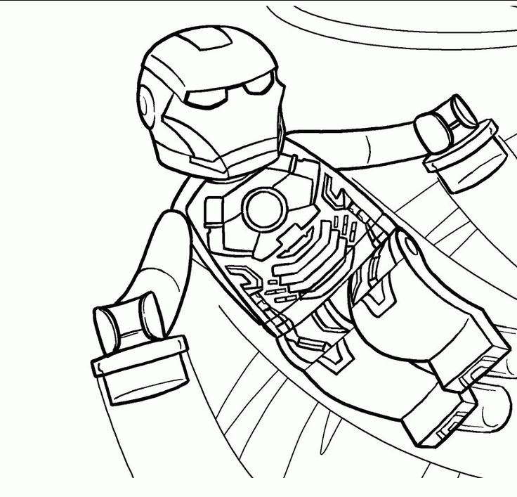 Lego Iron Man Coloring Pages AZ Coloring Pages Throughout